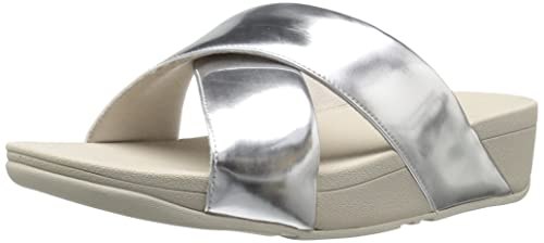 25c31b8d15ad Fitflop Women s Swoop Slide Sandals  Amazon.co.uk  Shoes   Bags