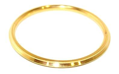 M'VIR Sikh/Punjabi Kada/Kara Bracelet for Men/Women 7 4 CM