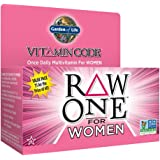 Garden of Life Multivitamin for Women - Vitamin Code Raw One Whole Food Vitamin Supplement with Probiotics, Vegetarian…