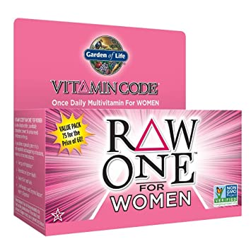 garden of life multivitamin for women vitamin code raw one whole food vitamin supplement with - Garden Of Life Multivitamin