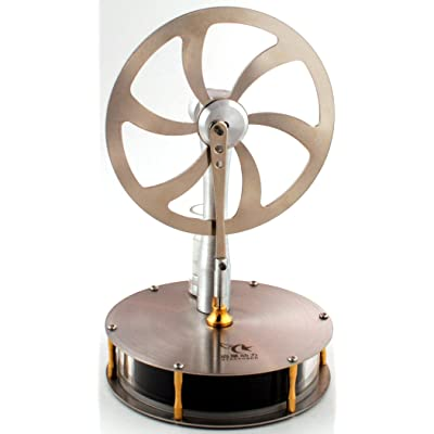 Low Temperature Stainless Steel Stirling Engine Model (Tested Before Shipping): Industrial & Scientific