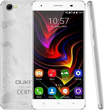 OUKITEL C5 Pro 4G Dual SIM Smartphone, 5.0 Pantalla táctil Quad Core Android 6.0 teléfono móvil, 2 GB de RAM + 16 GB de Memoria ROM, Carga rápida: Amazon.es: Electrónica
