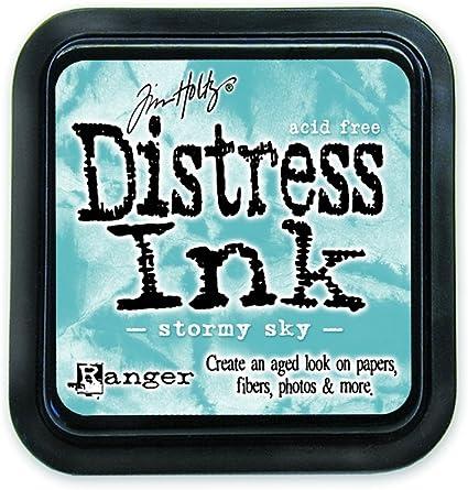 Bundled Sage 7.5 x 7.5 x 27 cm Ranger 18780626 Tim Holtz Distress Ink Pad