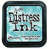 Ranger DIS-27171 Tim Holtz Distress Ink Pad, Stormy Sky