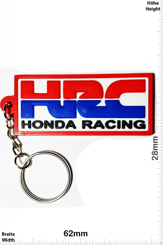 Keychains Honda Hrc Honda Racing Red White Rot Weiss