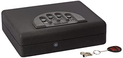 Gunvault MicroVault XL MVB1000 gun safe Biometric fingerprint Review