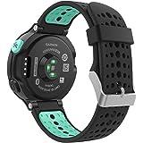Garmin Forerunner 235 Accessori, MoKo Morbido Cinturino di ricambio in Silicone per Garmin Forerunner 220/230/235/620/630/735 Smart Watch, VERDE Menta