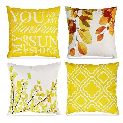 Asur homi - Funda de cojín Decorativa para sofá de casa (45 ...