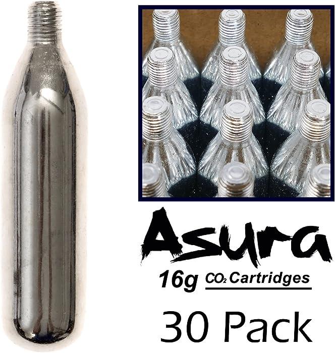 Asura 16 Gram CO2 Threaded Cartridges