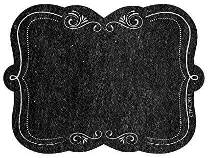 amazon com creative teaching press chalkboard labels black white