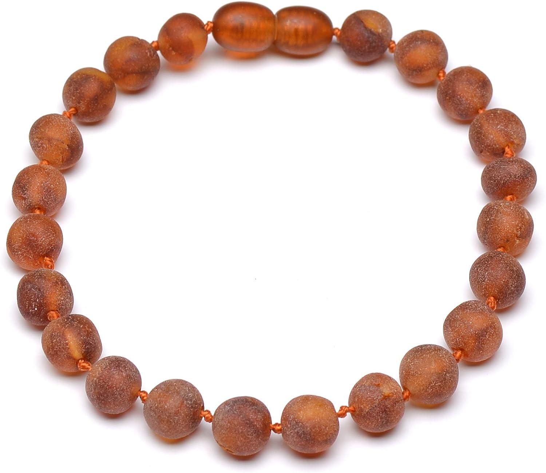 Amber Bracelet Adult Round beads Multicolored Baltic Polished Elastic Handmade