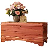 Amish Made Large Waterfall Cedar Hope Chest