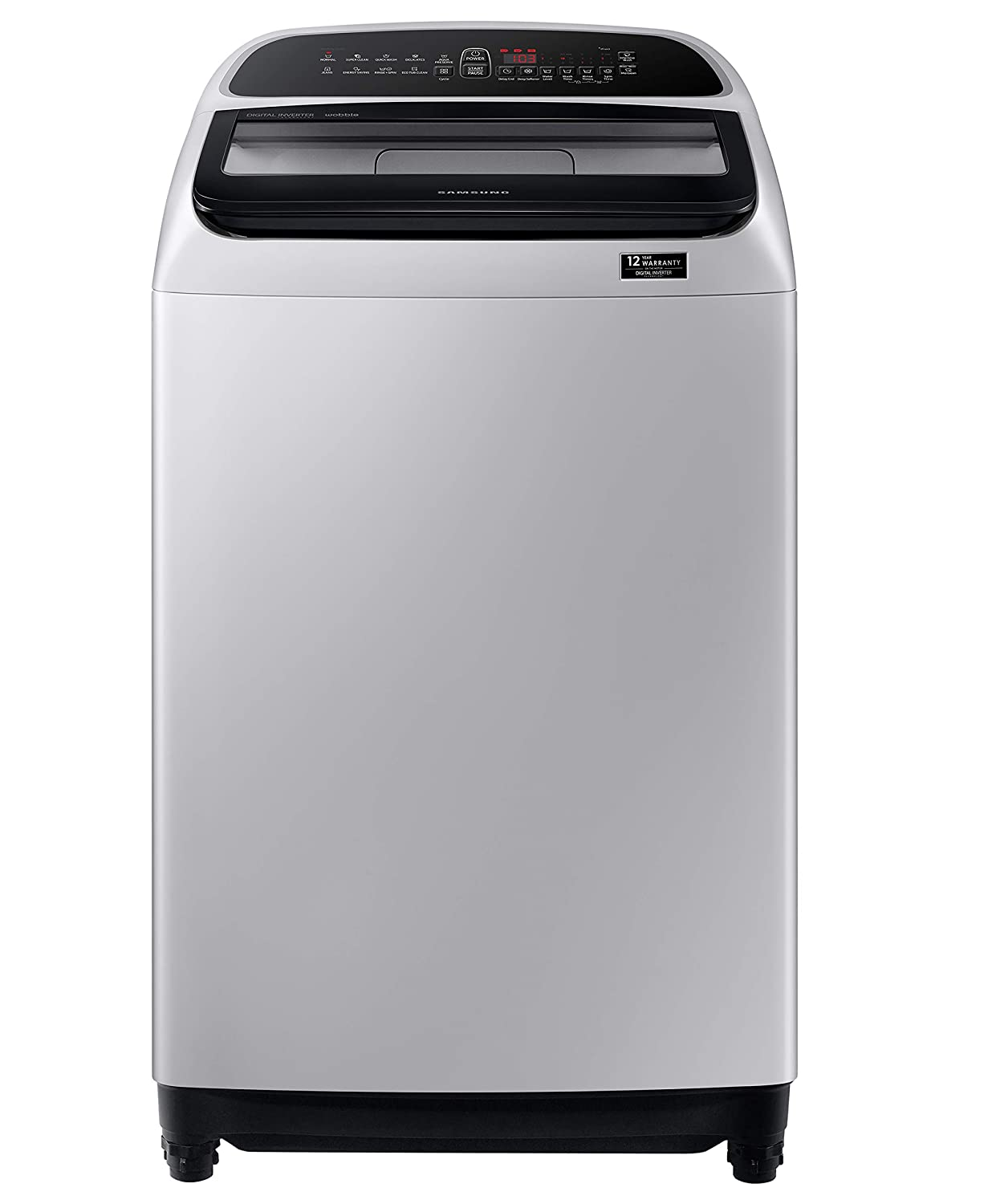 Samsung 9 Kg Inverter 5 Star Fully Automatic Top-Loading Washing Machine – WA90T5260BY/TL