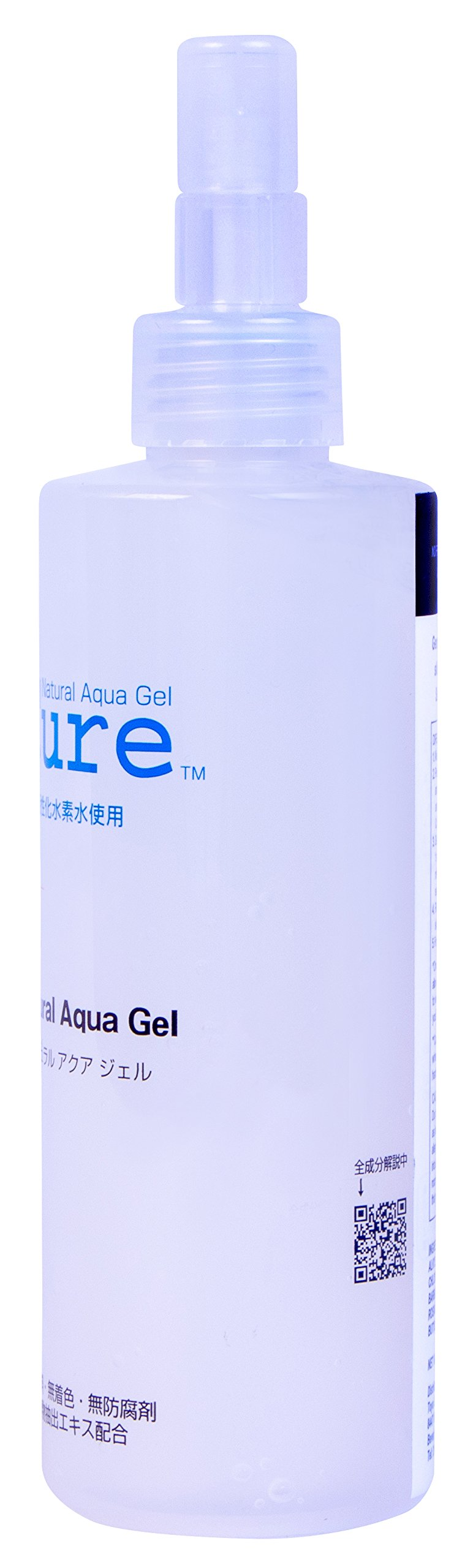TOYO Cure Natural Aqua Gel - Hydrogen Activated Water Skin Exfoliator Suitable for All Skin Types (8.5 Ounce / 250 Milliliter) by NATURAL AQUA GEL CURE (Image #2)