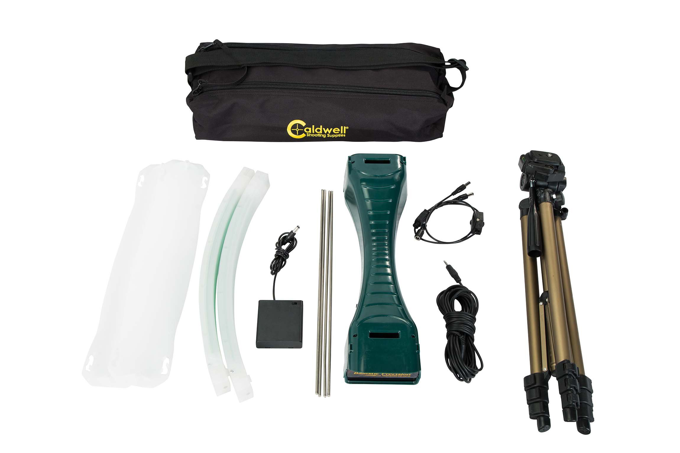 Caldwell Ballistic Precision Chronograph Premium Kit with Tripod for Shooting Indoor and Outdoor MPS/FPS Readings by Caldwell