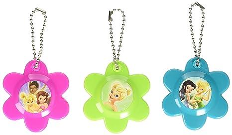 Amazon.com: Disney Tinkerbell Flor Espejo Compacto Llavero ...