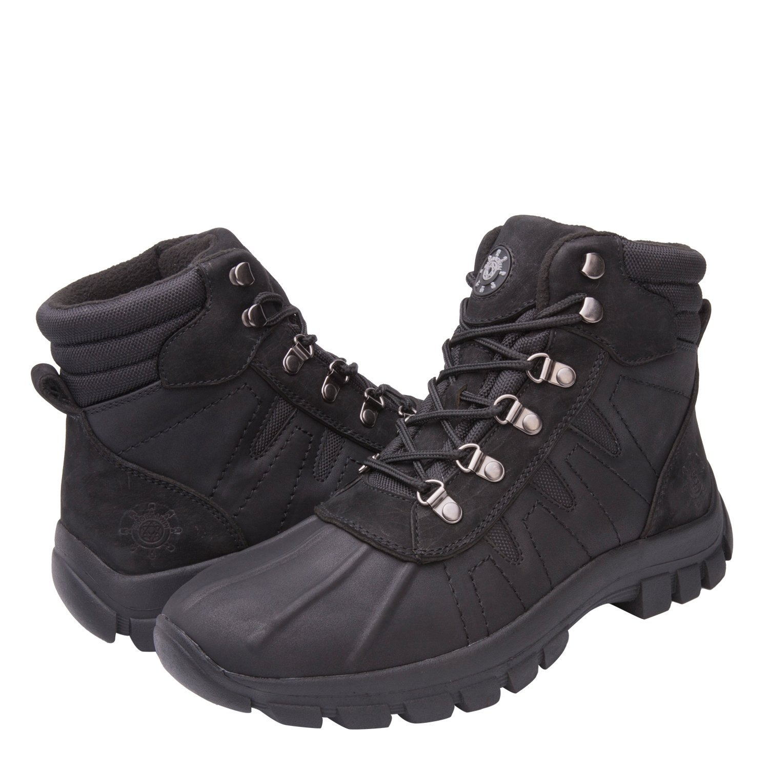 GlobalWin - 16301 Snow Boots 9.5 M US BLACK by KINGSHOW