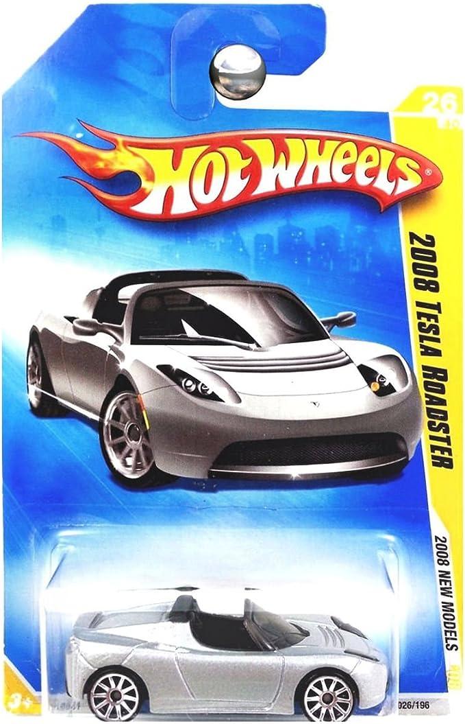 Hot Wheels '08 Tesla Roadster Greetings From Space 2018 Mattel
