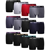 FM London HIPSTER, Calzoncillos para Hombre, Pack of 12