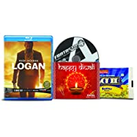 Logan + Logan Noir (2-Disc) + Fantastic Four Rise of the Silver Surfer - 2 English Movies (3 Blu-ray bundle offer)