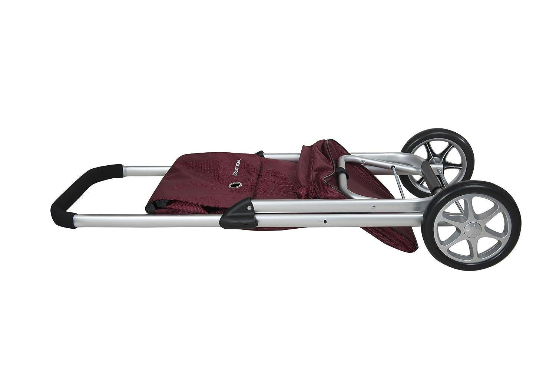 Bamex Chariot De Course Denver avec Compartiment Isotherme Bordeaux