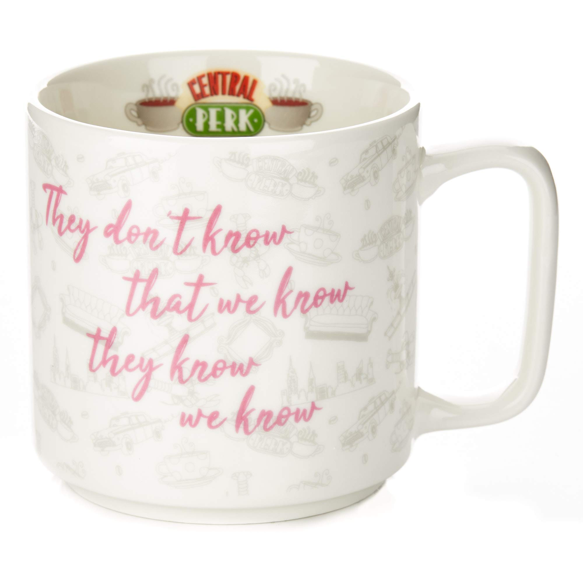 Friends Phoebe Slogan Coffee Mug - They Don't Know