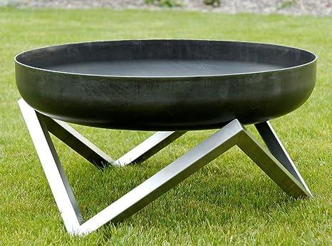 Svenskav Design-Feuerschale XXL, 63 x 63 x 36 cm