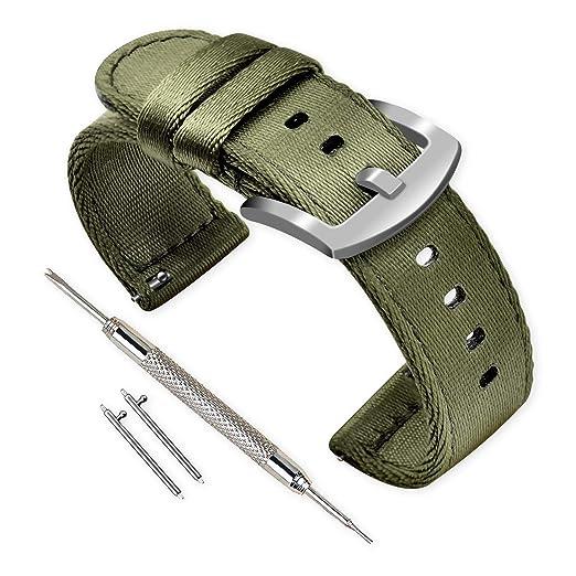 Vinband Correa Reloj Calidad Alta Nylon Correa Relojes - 18mm, 20mm, 22mm, 24mm