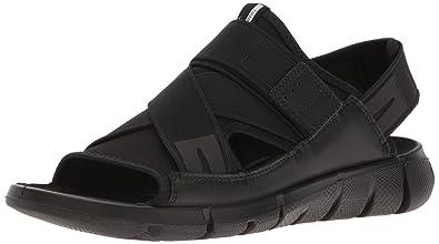 Ecco Damen Intrinsic Sandal Offene Keilabsatz