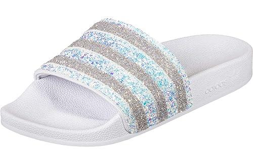 adidas Originals Badelatschen Adilette EE4810 (40 1/2, weiß)