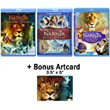 The Chronicles of Narnia: Complete Movie Trilogy Blu-ray Bundle (The Lion, the Witch and the Wardrobe / Prince Caspian…