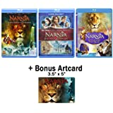 The Chronicles of Narnia: Complete Movie Trilogy Blu-ray Bundle (The Lion, the Witch and the Wardrobe / Prince Caspian / Voya