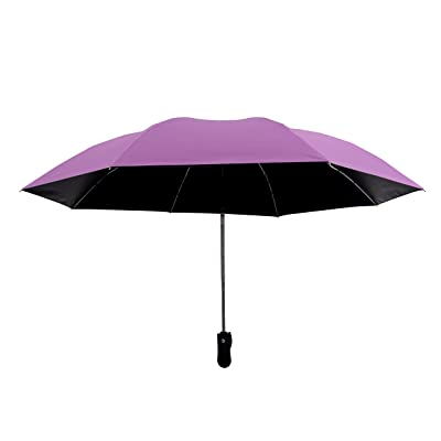 Auto Open Close Foldable Double Layer Inverted Umbrella UV Protection Windproof