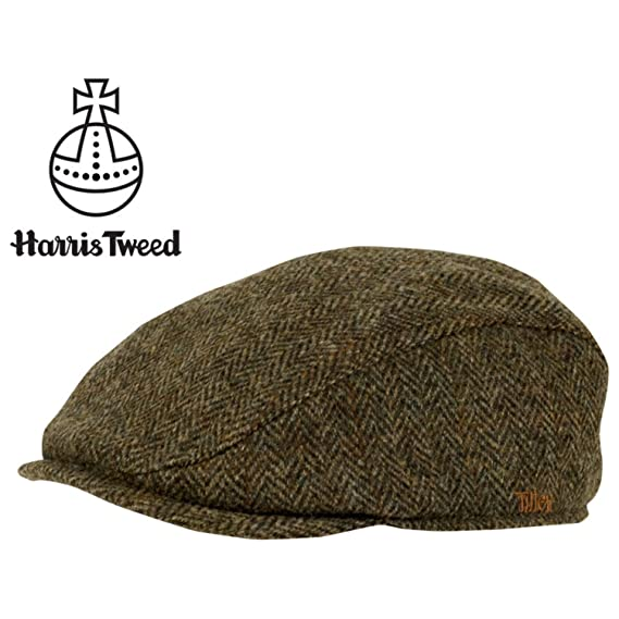 Tilley TIC1-HT Ivy Cap in Harris Tweed - Brown Plaid 4f2f2a80c6e