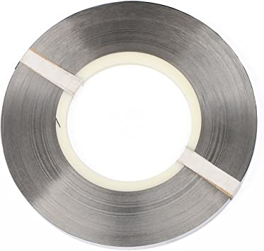 Solid Pure Nickel Strip- 1kg Li-Po Battery NiMh and NiCd Battery Pack Battery and Spot Welding 2.2lbs Roll of 0.15x8mm 99.6/% Nickel for 18650 Soldering by U.S