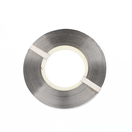 Tira de níquel puro de 0.15 x 8 mm para paquetes de baterías 18650 Soldadura de