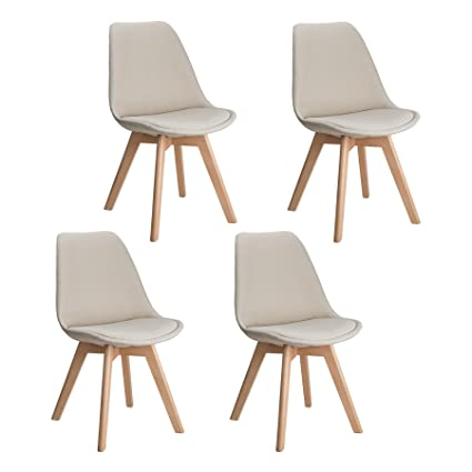 Incroyable CO Z Mid Century Modern Dinning Chairs, Modern Eames DSW Eiffel Side Chair  For