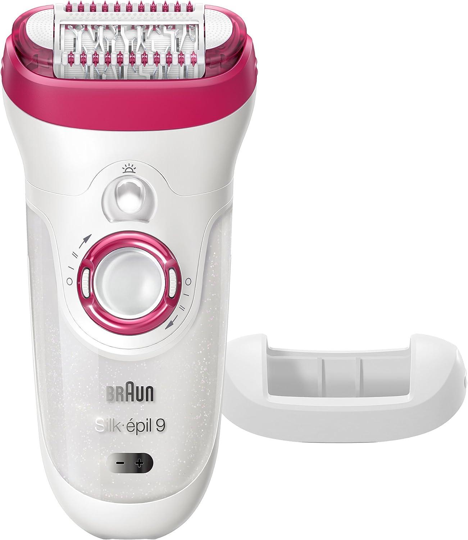 Braun Silk-épil 9 9 – 521 – Depiladora Wet & Dry sin cable eléctrico depilación para las mujeres: Amazon.es: Belleza