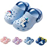 YWY Toddler Little Kids Clogs Slippers Sandals, Non-Slip Girls Boys Clogs Slide Lightweight Garden Shoes Slip-on Beach…