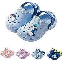 Sangles /à Velcro pour enfant Fille-Sandales-Fleur-Sandales de sport d/ét/é Chaussures de plage pour enfants-Taille 6 /à 12