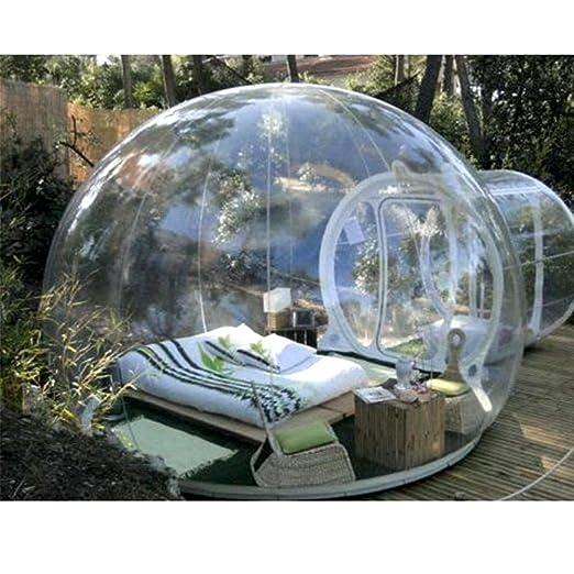 WENBIAOXUEBall - Tienda hinchable hinchable transparente para hoteles y casas de camping, 3 metros de diámetro (todos los modelos transparentes): Amazon.es: ...