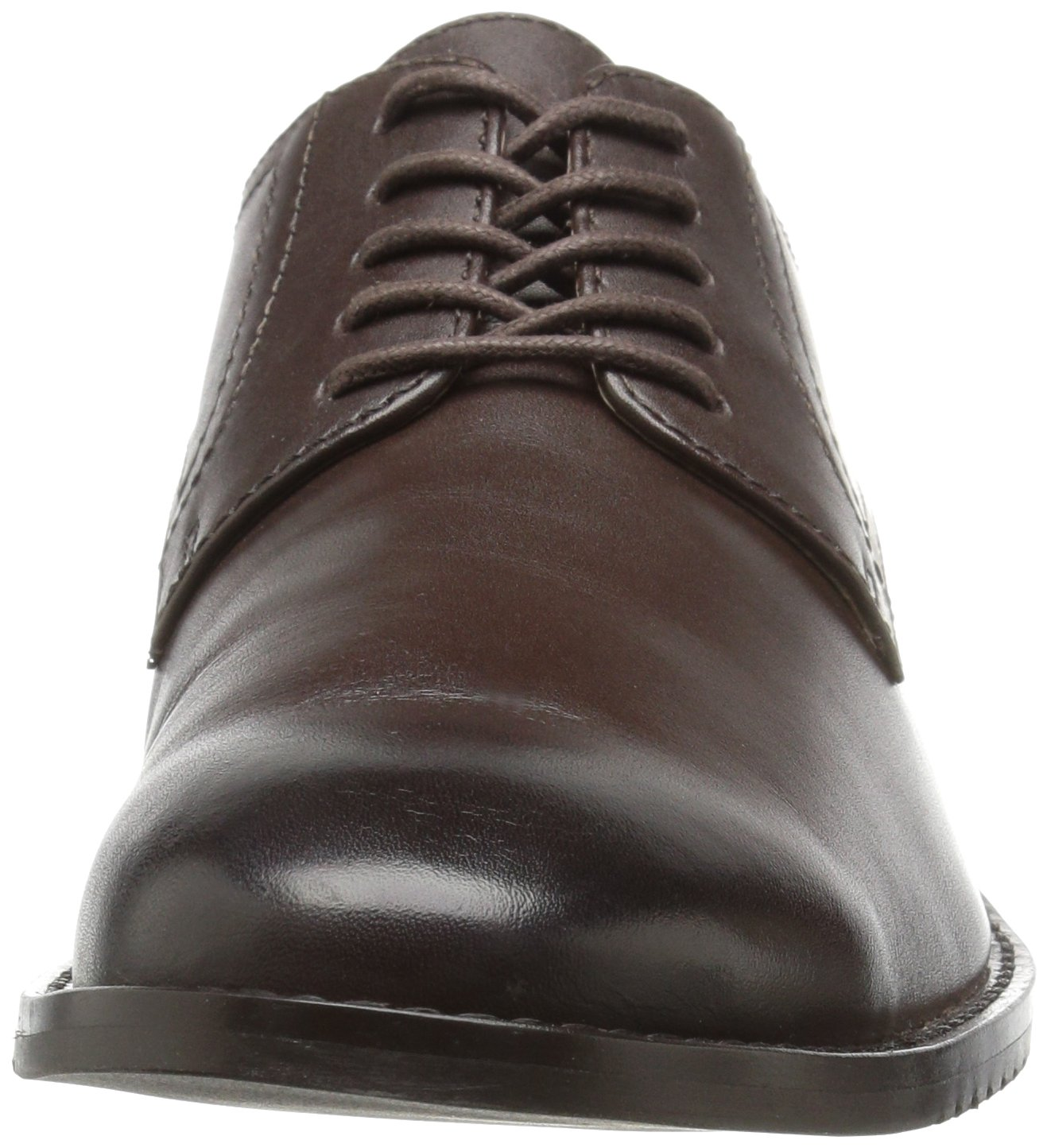 206 Collective Men's Concord Plain-Toe Oxford Shoe, Chocolate Brown, 11 D US by 206 Collective (Image #4)
