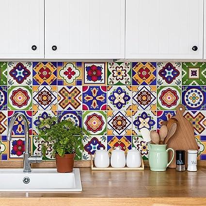 54 piezas adhesivo para azulejos 10x10 cm ps00037 junio adhesivo decorativo para - Adhesivo para azulejos ...