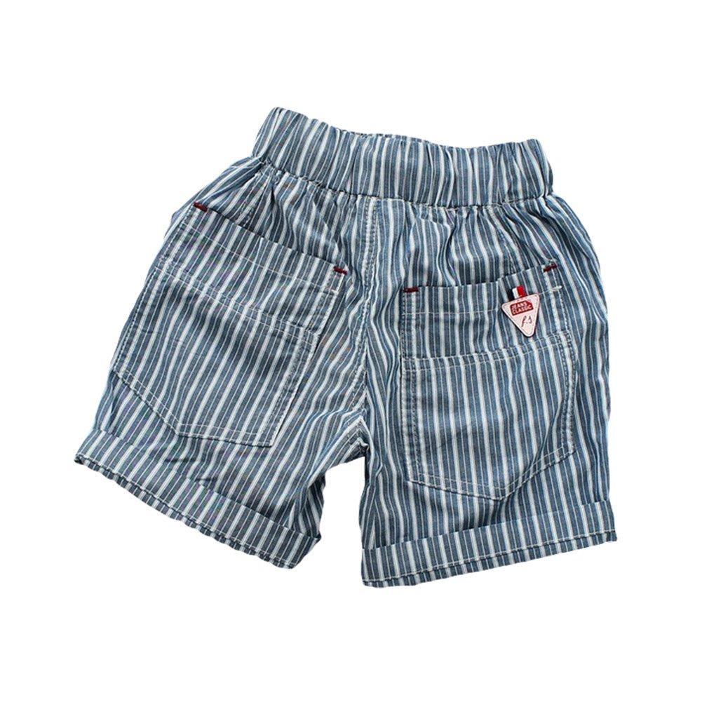 TAIYCYXGAN Baby Toddler Boys Shorts Kids Elastic Stripe Summer Short Pants Shorts