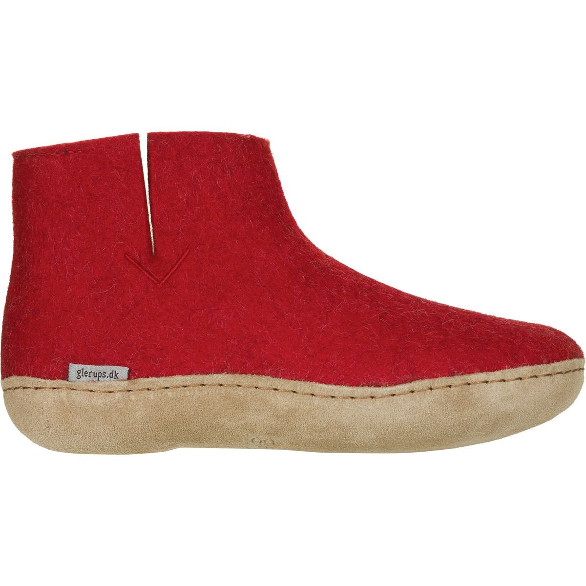 Glerups Woman High Slippers Red 4Sufocyx