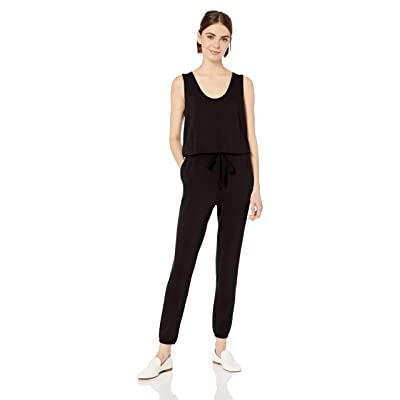 Brand - Daily Ritual Women's Supersoft Terry Sleeveless Jumpsuit: Clothing