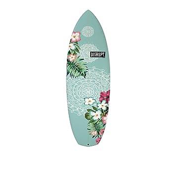 La tabla de surf, diseño de flores de Baked Bean, 5 3 –