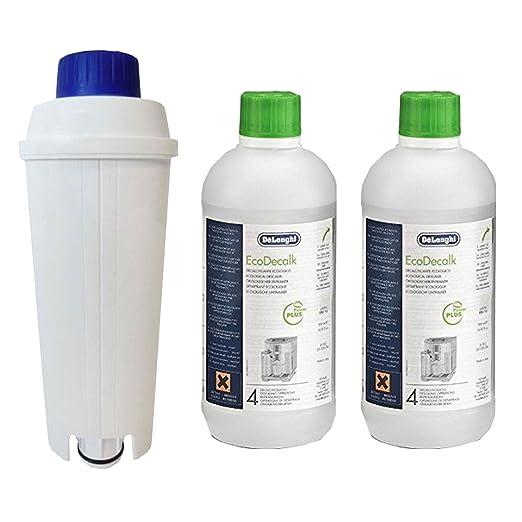 Delonghi Descalcificador 500 ml (2 descalcificadores) + Kit de ...