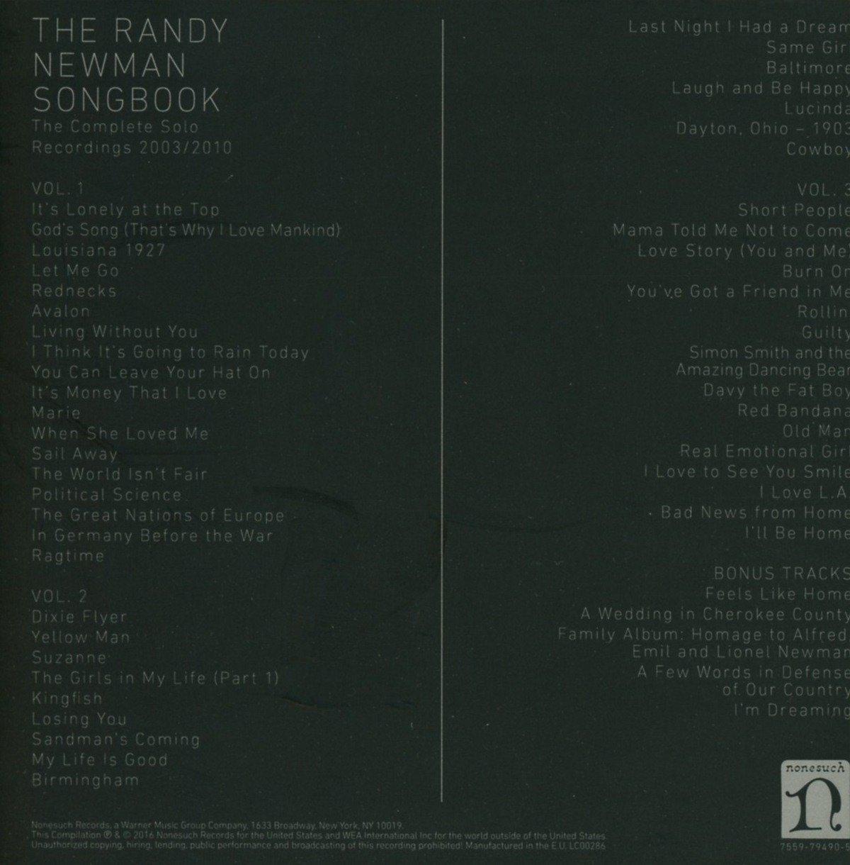 The Randy Newman Songbook - Randy Newman: Amazon.de: Musik