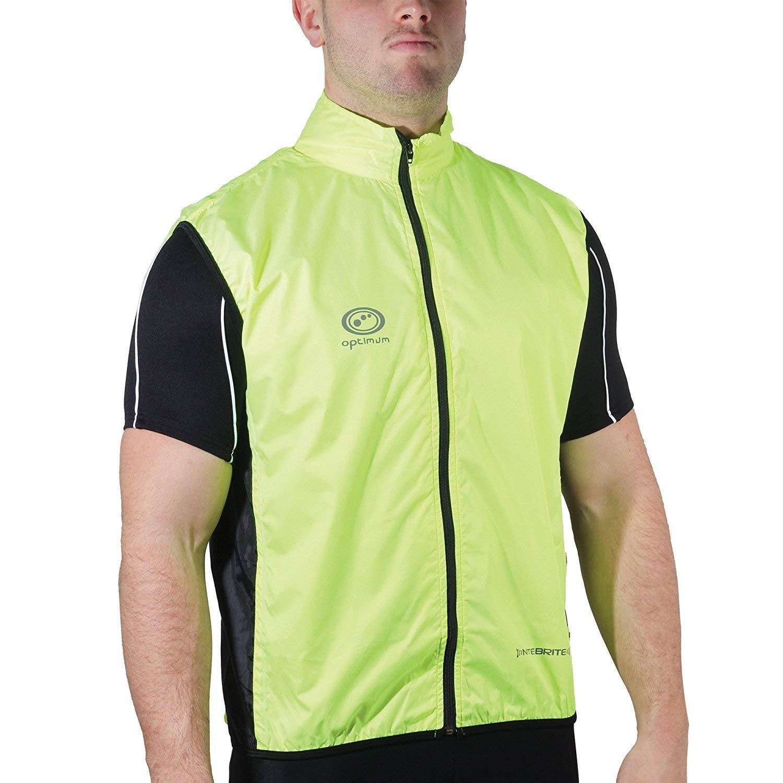 OPTIMUM Nitebrite Chaleco de Ciclismo para Hombre